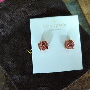 Kate Spade Rose Gold Glitter Gum Drop